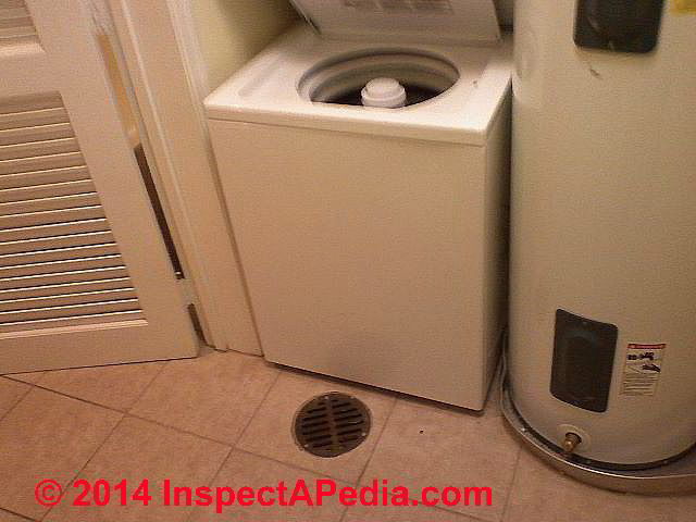 washing machine leaking water from bottom