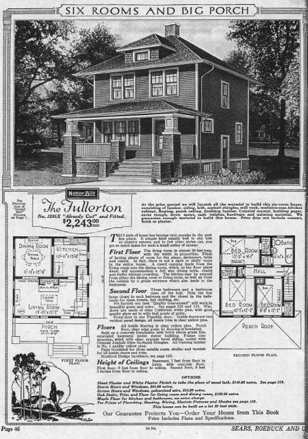 Sears Catalog Kit Houses How To Identify A Sears Catalog