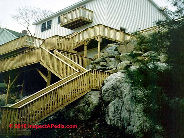 Stair Railing Stair Guardrail Construction