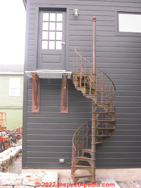 Exterior stairways guide to outdoor stair railing for Exterior stairs