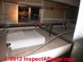 Drop ceiling return plenum (C) D Friedman