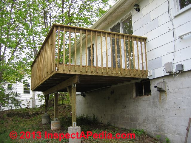Basic deck building plans pictures to pin on pinterest for Simple house structure design