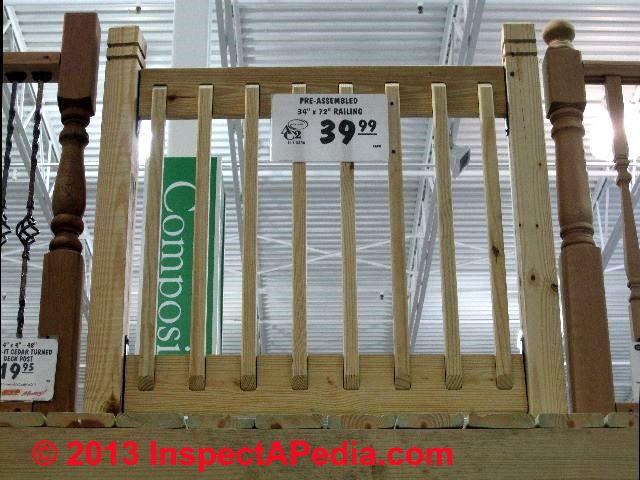 Deck Guardrail Or Stair Railing Baluster Installation