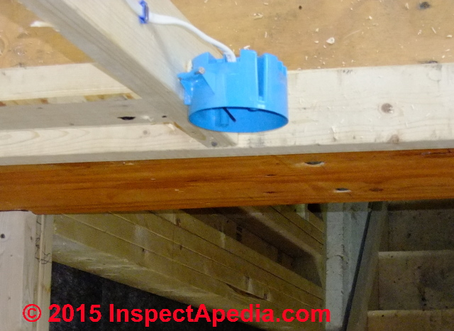 Plastic Electrical Box Repairs: fix or replace a damaged wall or ceiling plastic electrical box