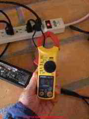 A W Sperry Instruments Digisnap DSA-500 digital multimeter with snap around ammeter (C) Daniel Friedman