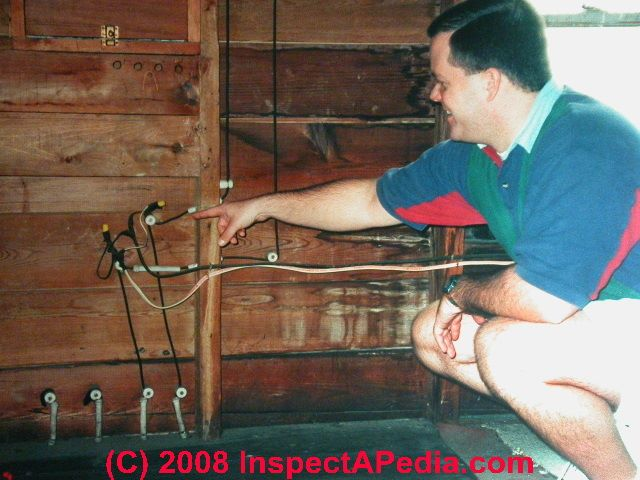 old house wiring inspection repair electrical grounding knob knob and tube wiring illegal extension c daniel friedman old electrical