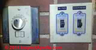 GE low voltage wiring switches, relays and junction box (C) InspectAPedia