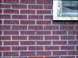 PHOTO of asphalt siding on the Coolidge Hotel, White River Junction Vermont