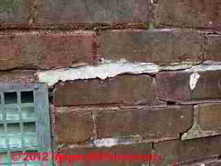 Bad brick repair (C) D Friedman
