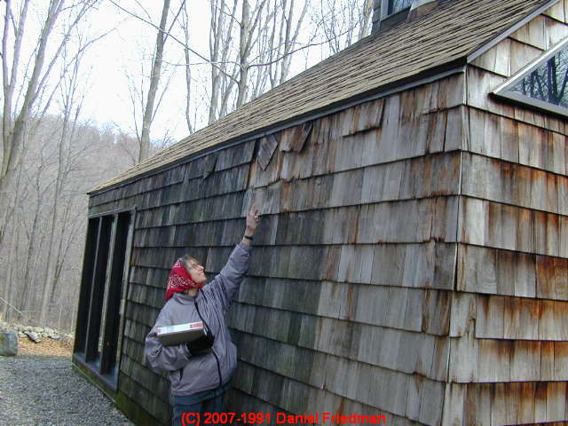 Roof Venting Defects Seen From Outside How To Inspect The