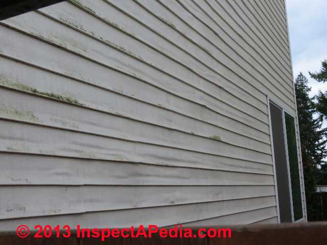 Causes Of Vinyl Siding Buckled Rippled Bent Loose Or Warped