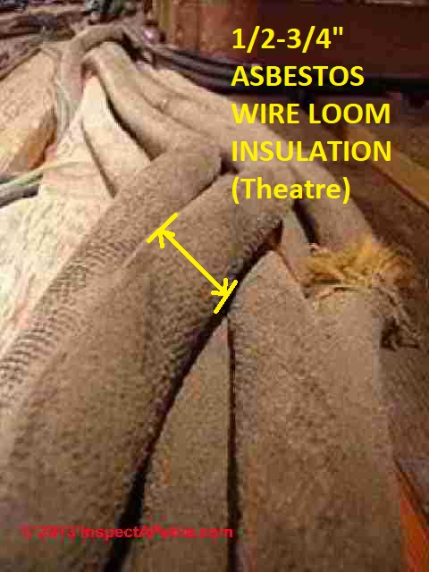 Asbestos Electrical Wire Insulation amp Asbestos Electrical