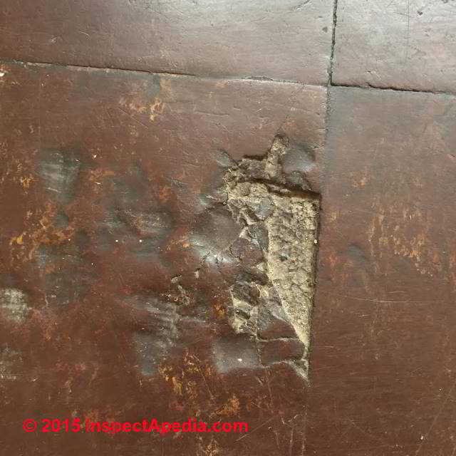 Identify U K Floor Tiles That May Contain Asbestos