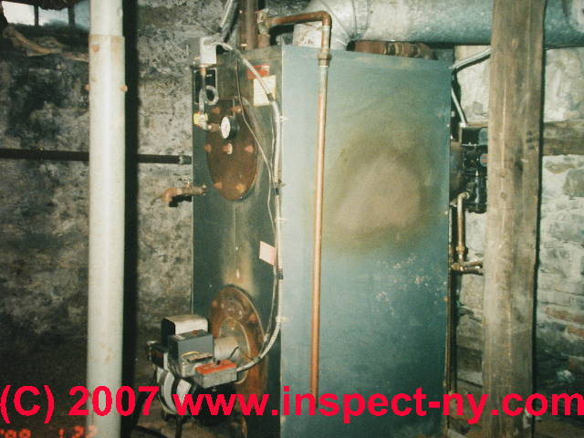 Boilers Procedures For Inspecting Hot Water Heating