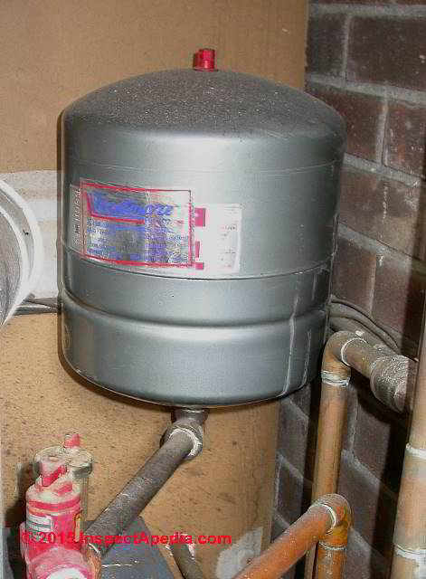 Heating Boiler Expansion Tank Pressure Adjustment When