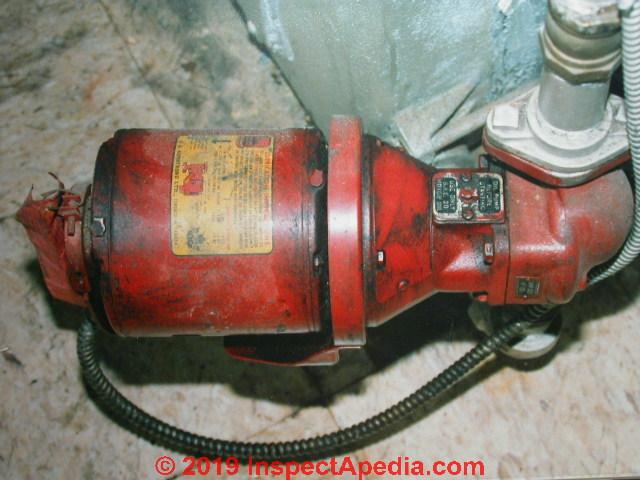 Circulator Pumps Hot Water Heating System Circulator