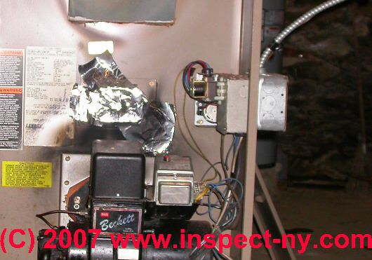 Heating Furnace Controls Amp Switches Hot Air Heat