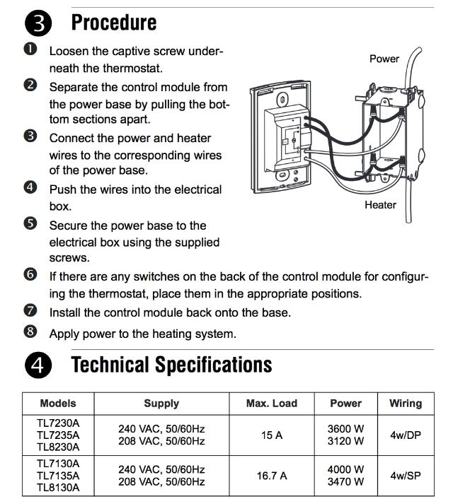 wiring diagram 220 volt thermostat the wiring diagram line voltage thermostats for heating cooling wiring diagram