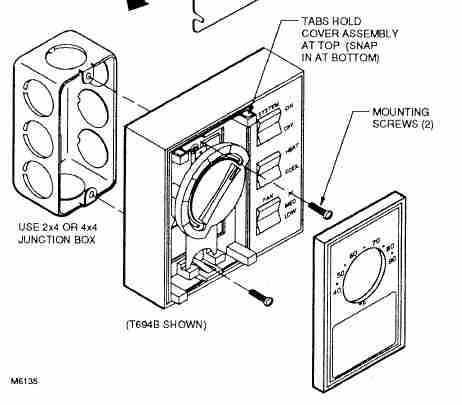 Discussion T5647 ds538307 likewise Vent D er Wiring Diagram further Modine Gas Heater Wiring Diagram further Home Air Conditioning Wiring Diagrams further Basic Breaker Box Wiring Diagram. on old thermostat