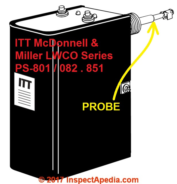 installation and service manuals for heating heat pump and air itt mcdonnell miller lwco type 801 802 851 c inspectapedia