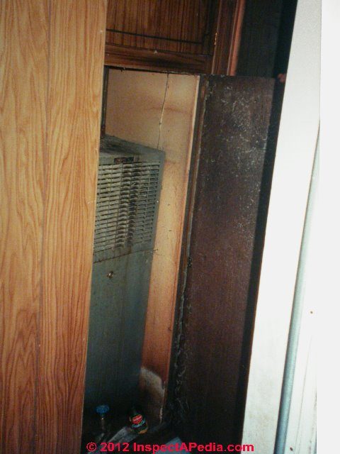 Mobile Home Furnace Closet Doors on mobile home furnace vent