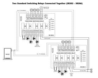 zone valve wiring installation \u0026 instructions guide to heating Commercial Building Wiring Diagrams how to wire multiple taco sr502 sr506 switching relays