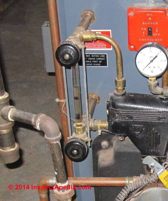 Steam Boiler Sight Glass How To Use The Sight Gauge To