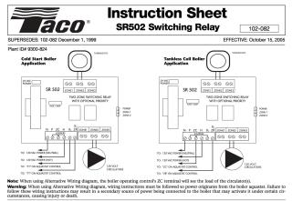 zone valve wiring installation instructions guide to heating rh inspectapedia com taco sr502 wiring diagram