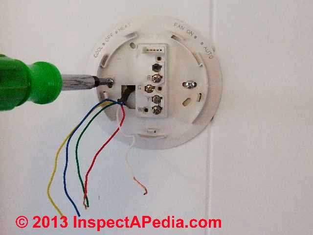 thermostat wire color codes and conventions 9 wiring tips for room thermostats helpful pointers regarding 24v thermostat wiring heat anticipators
