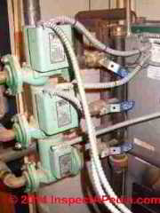 Manual heating zone balancing valve adjustment (C) Daniel Friedman