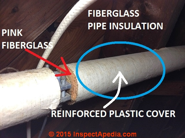 asbestos pipe insulation pictures how to spot abandoned asbestos pipe