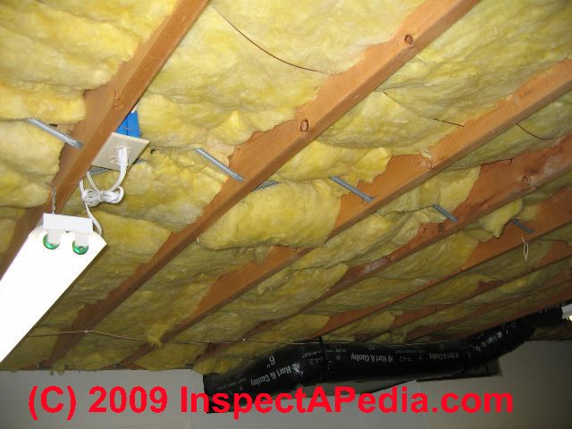 Crawl space moisture barrier placement guide for Floor joist insulation