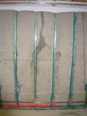 Foundation crack leak (C) Daniel Friedman