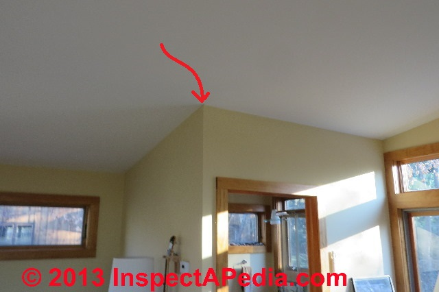 How To Paint Corner Between Wall And Ceiling