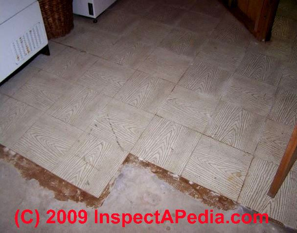 Asbestos Thermoplastic Tiles
