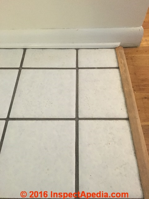 Do Ceramic Tiles Grouts Or Mastics Contain Asbestos What About Ceramic Floor Or Wall Tiles