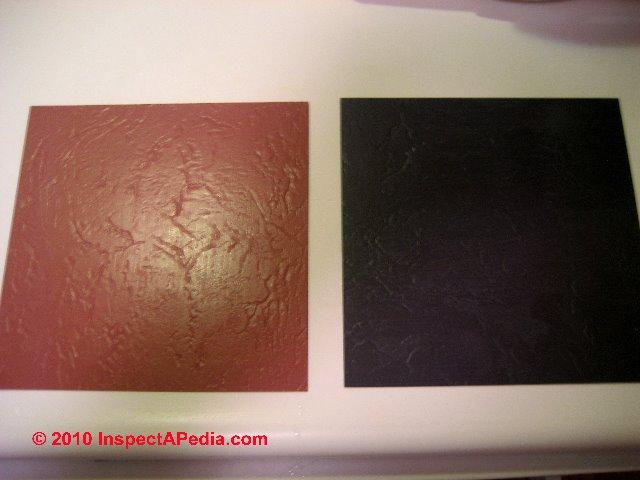 Photo Guide To Sears Roebuck Vinyl Asbestos Floor Tiles