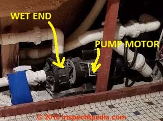 troubleshoot repair spa hot tub whirlpool bath pumps