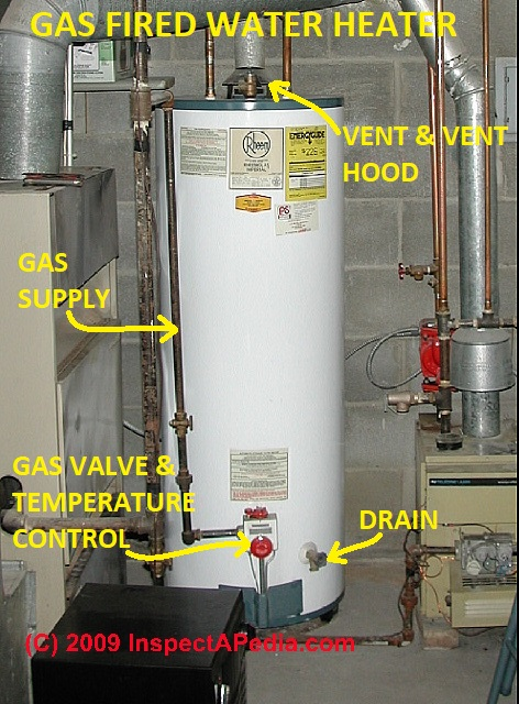 how to find out the age of a hot water heater, heating furnace, or,