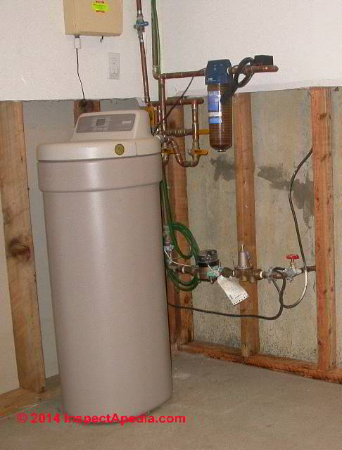 water softener hook up piping Best management practices for the discharge of if the water softener is set up incorrectly properly and install an effluent screen on the outlet pipe of the.