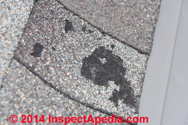 Asphalt Roof Shingle Storm Or Hail Damage Identification
