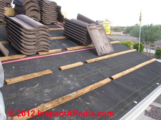 Clay Tile Roof Installation Specifications Specifications