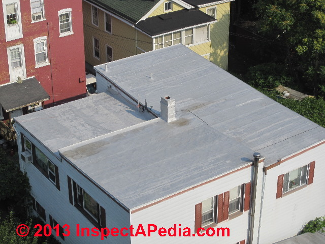 Low Slope Roofing Products Materials Inspections Low