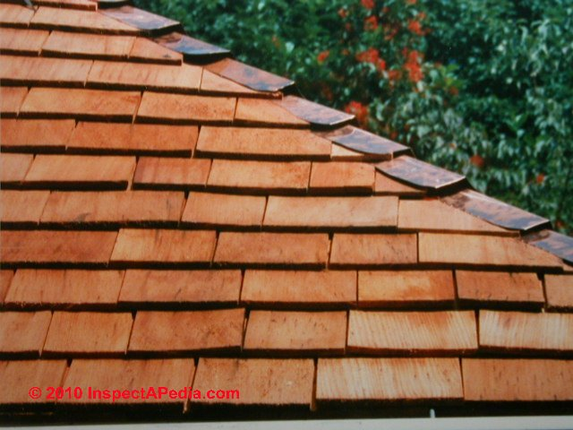 Wood Shingle Amp Wood Shake Roof Identification Inspection