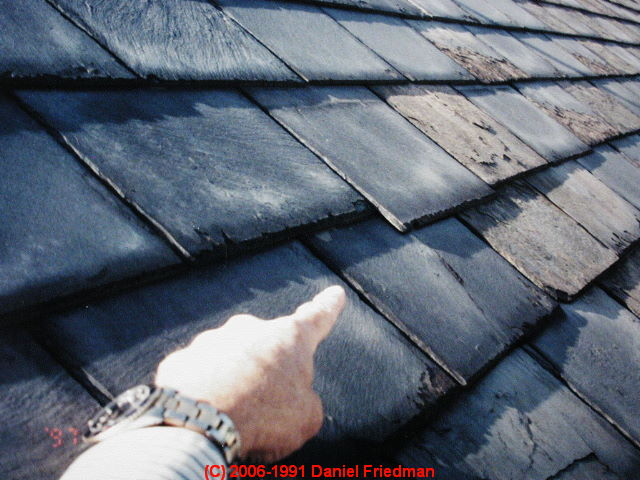 A Photographic Guide To Slate Roof Defects