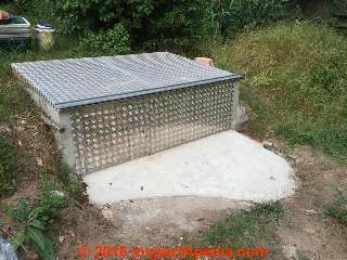 concrete septic tank lids for sale