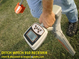 DitchWitch buried utility line locator 150R - permission requested 11/19/2012