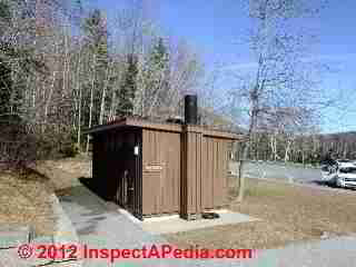 Outhouse, Acadia National Park, Maine (C) D Friedman