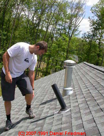 Dwv Vent Height Above Roof Sewer Vent Location Requirement