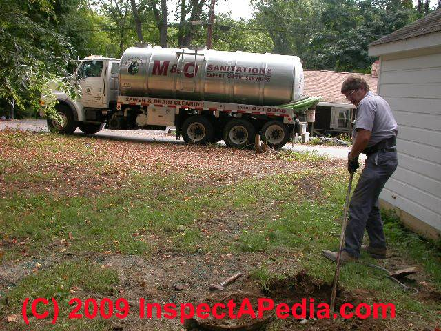 Septic Tank Cleanout Tank Septic Tank Cleanout